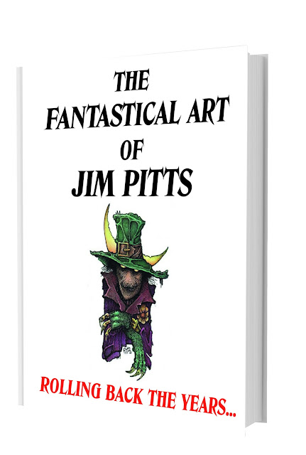 Just over 2 weeks to go for pre-order offer on The Fantastical Art of Jim Pitts