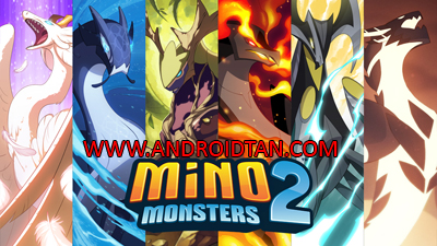 Download Mino Monsters 2 Evolution Mod Apk v4.0.104 (Mega Mod) Terbaru 2017