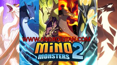 Download Mino Monsters 2 Evolution Mod Apk v4.0.104 (Mega Mod) Terbaru 2017