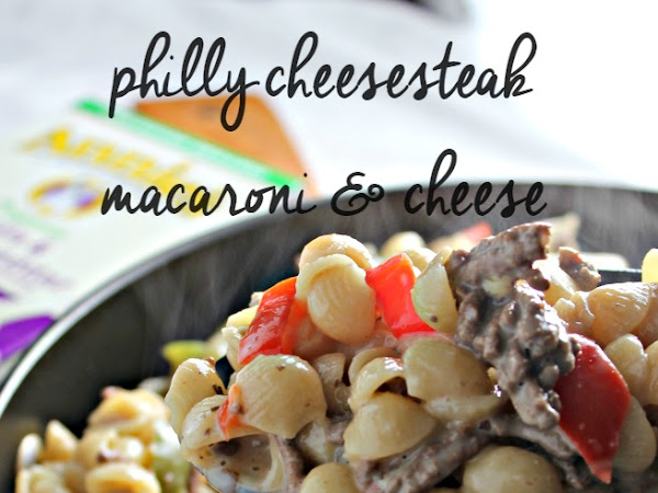 Philly Cheesesteak Macaroni & Cheese
