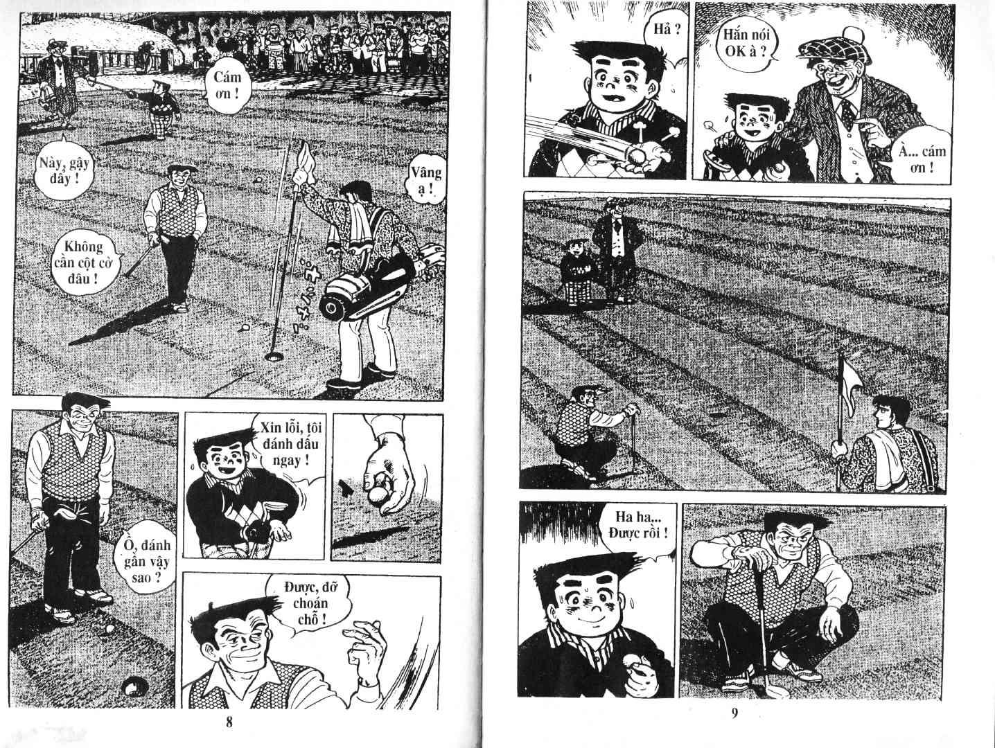 Ashita Tenki ni Naare chapter 51 trang 3