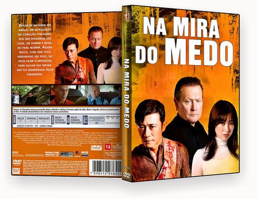 NA MIRA DO MEDO AUTORADO – CAPA DVD