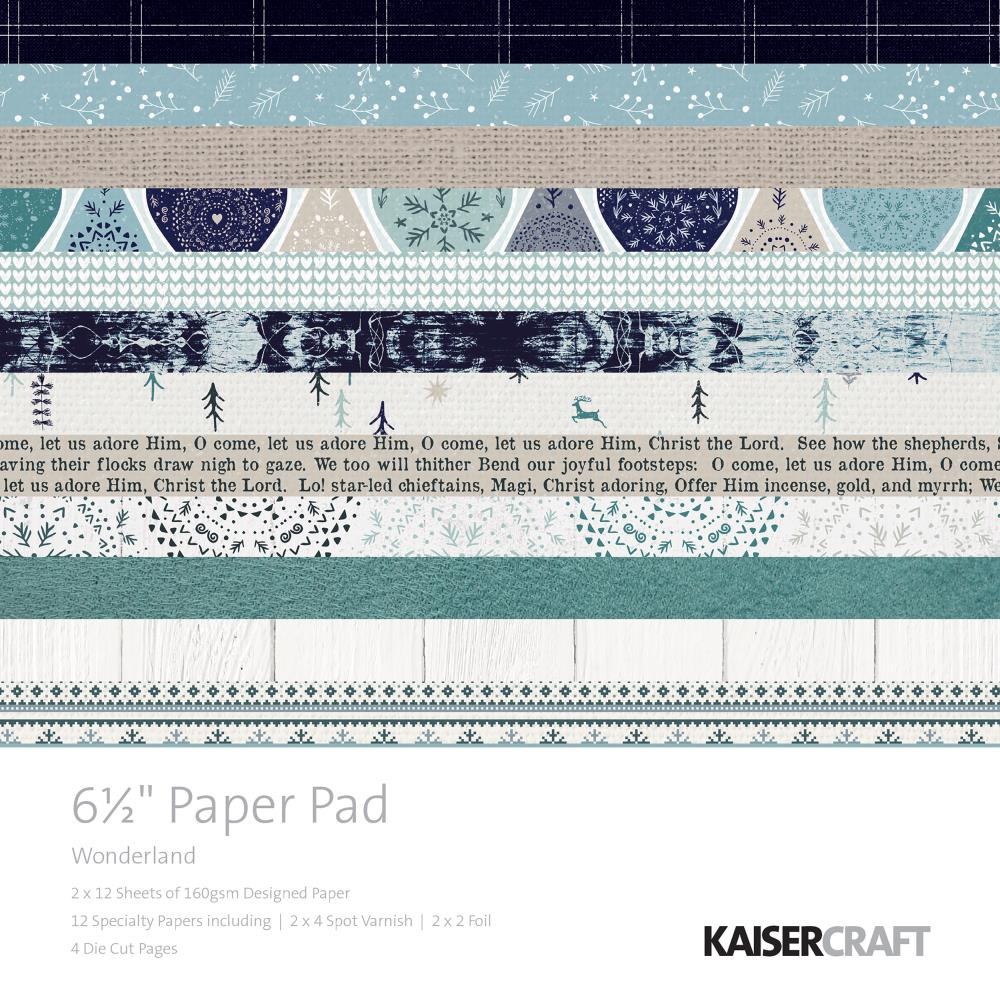 NEU Kaisercraft Winter Wonderland Paper Pad