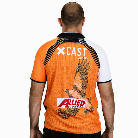 Wests Tigers Training Jersey