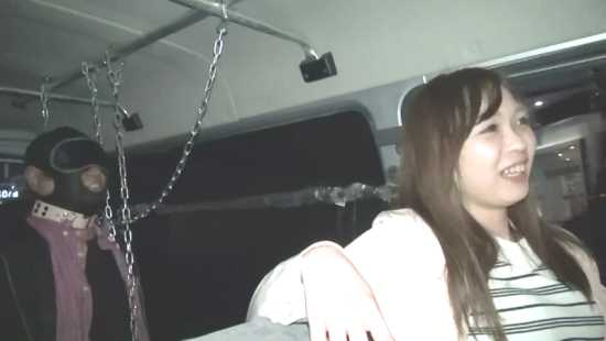 japanese mistress with slave in a minivan. slave chained inside car. yapoo market venus semidocumentary YMVD 006