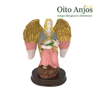 Imagem Arcanjo Gabriel Resina - Arcanjo Gabriel Príncipe dos Anjos