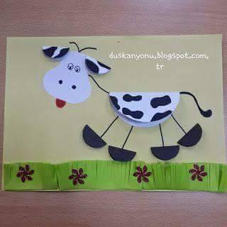 أفكار لعمل أنشطة فنية لأطفال الحضانة 11913983_16058596230