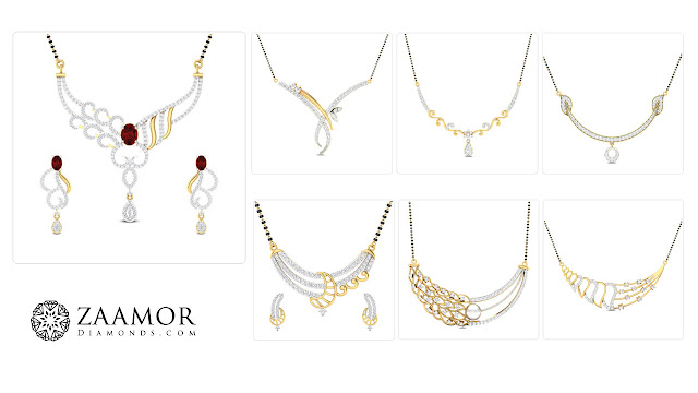 Diamond Mangalsutra - Zaamor Diamonds