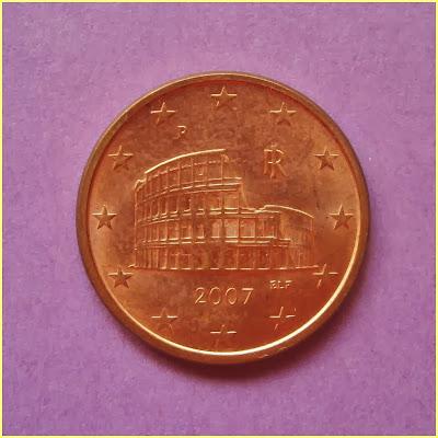0,05 Euros Italia