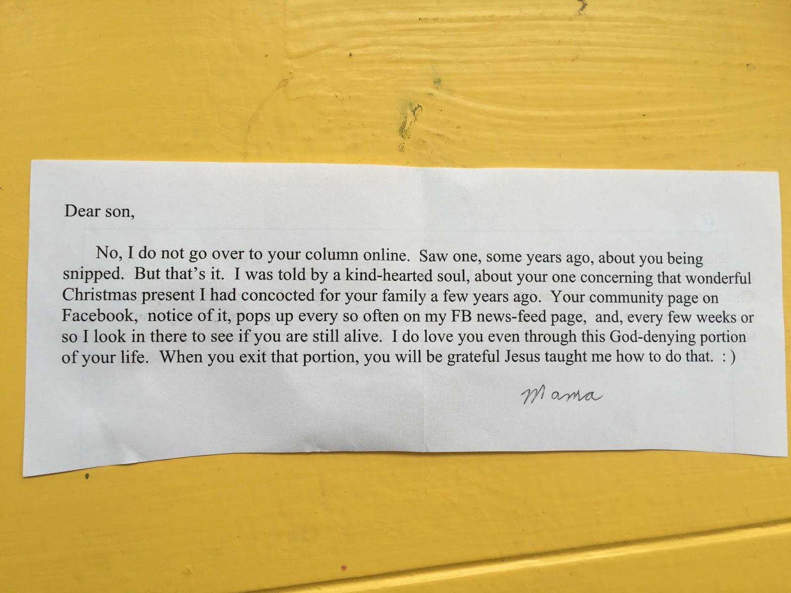 letter for my son on how proud Erkalnathandedecker