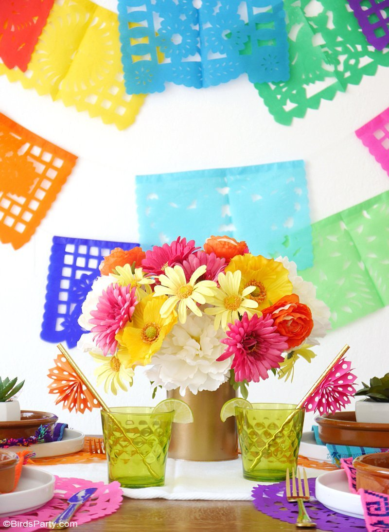 A Colorful Cinco de Mayo Mexican Fiesta - Party Ideas ...