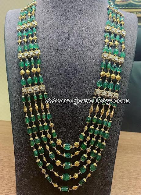 Emerald Sets by Satyanarayana & Sons