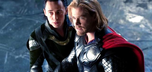 Thor şi Loki în Thor: The Dark World