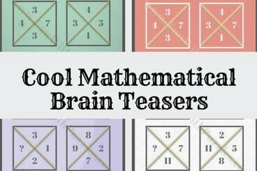 Brain Teasers to test your Mathematical Skills