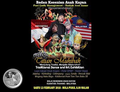 Tanggal 13 Februari 2016 di Pahang Malaysia