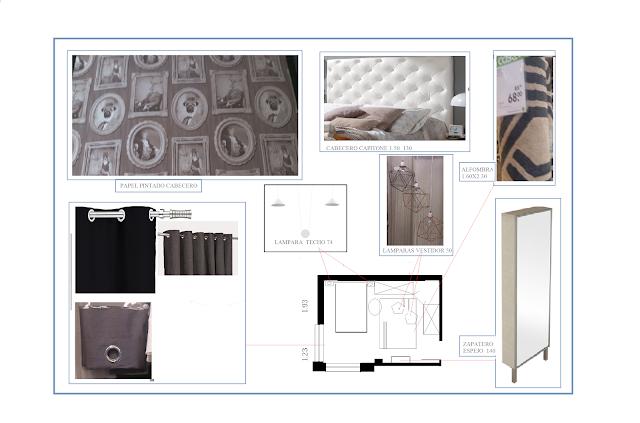 propuestas de decoracion dormitorio. www.lolatorgadecoracion.es