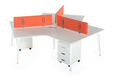 çalışma masası, çoklu çalışma masası, goldsit, legold, ofis mobilya, ofis mobilyaları, personel masası, üçlü,