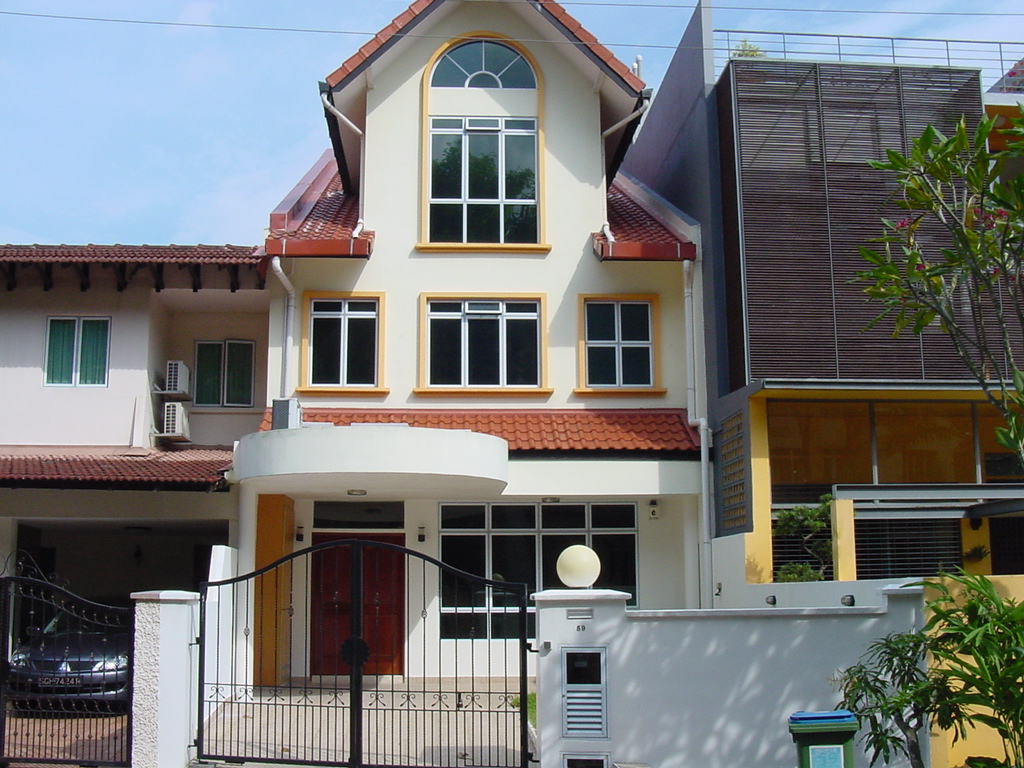 Eviltwin 39 s blog different singapore houses photos for Terrace homes