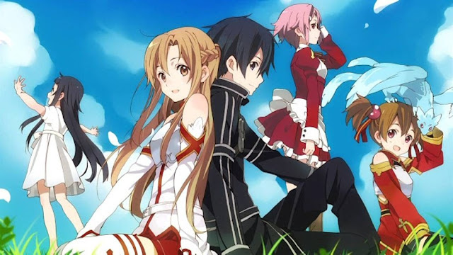 Sword Art Online BD Subtitle Indonesia Episode(1-25)