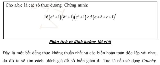 Phuong phap chung minh bat dang thuc cua chuyen Toan Quang Binh 2012 - 2015