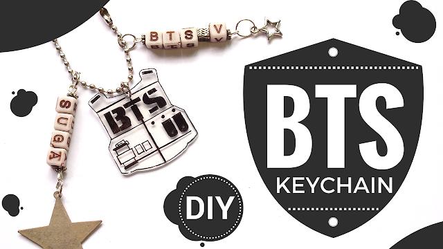 Koori Style, KooriStyle, Kpop, Kpop DIY, DIY, Recycled Plastic, Charm, BTS, BTS DIY, BTS logo, Kpop Tutorial, tutorial, Do it yourself, Manualidad, como hacer, plastico reciclado, reciclar, recycle, easy DIY