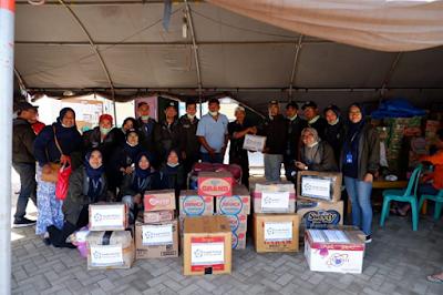 GenBI Lampung Salurkan Bantuan Korban Tsunami Selat Sunda