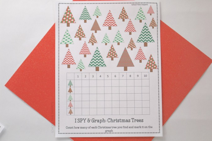 christmas maths graphing activities