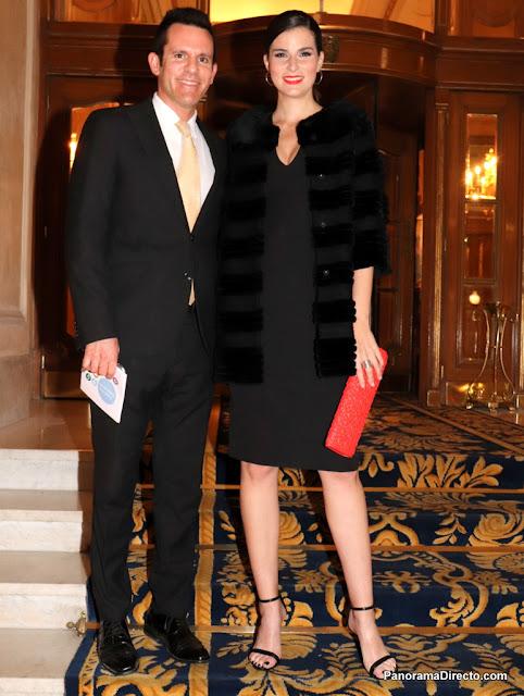 Sebastián Calfun y Laura Rivarola el Alvear Palace Hotel