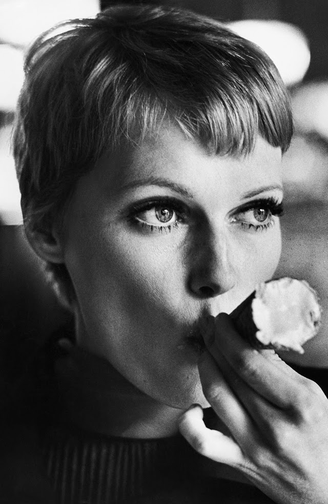 Pixie Cut Before And After 30 Beautiful Portraits Of Mia Farrow With Pixie Haircut In