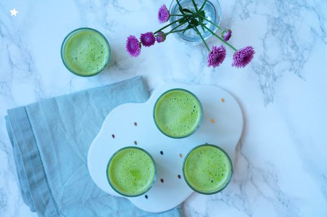 jus vert concombre pomme citron menthe juicer extracteur de jus rawfood