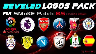 PES 2016 Logo Pack untuk Smoke Patch 8.5.1