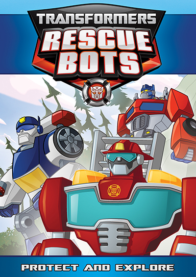 Shout! Factory Transformers Rescue Bots: Protect and Explore DVD