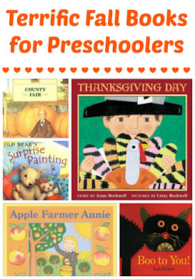 Fall book recommendations for preschoolers