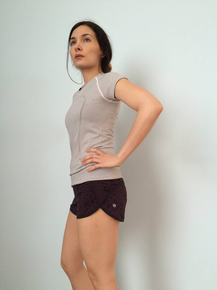 lululemon black-cherry speed-shorts