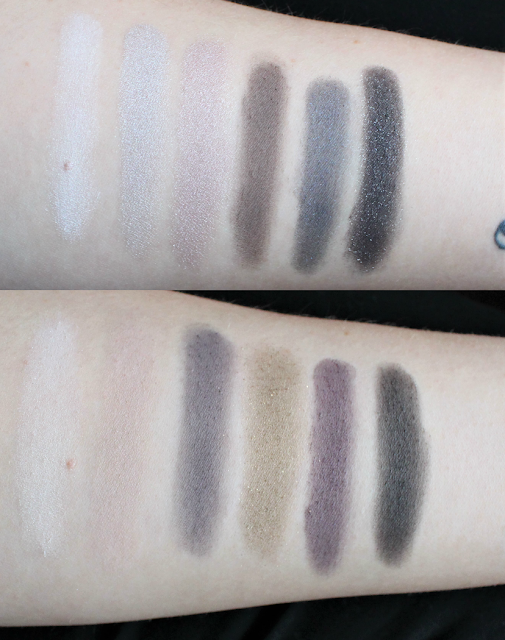 the rock nudes palette swatches
