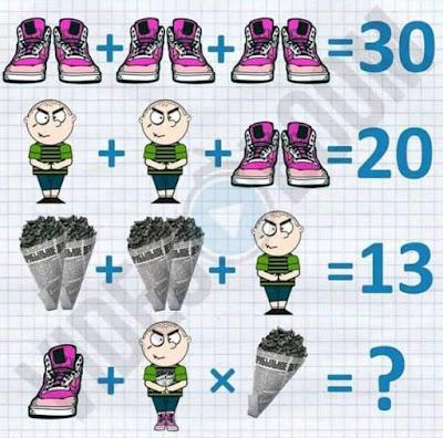 Shoe Man Paper Corn Puzzle