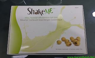 1 Kotak ada 20 Sachet 1 Sachet = 25g shake me soya