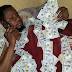 Nigerian man goes to bed with Dollar bills (PHOTOS)