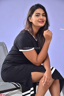 Actress Neha Deshpandey in Black Short Dress ~  Exclusive 009.jpg