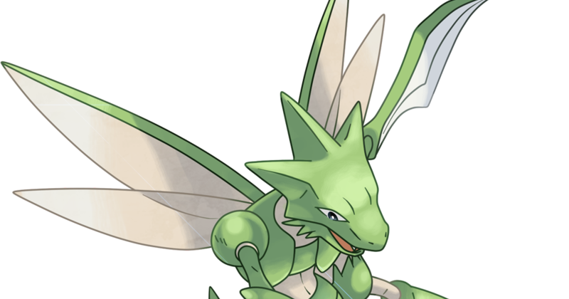 why cant scizor fly?but pikachu can :( - Pokemon Black ...