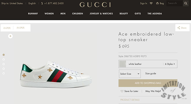 75e8e65730d I found the sneakers on the Gucci site. I knew they d be expensive