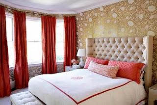 Desain Contoh Gambar Wallpaper Dinding untuk Kamar Tidur Minimalis