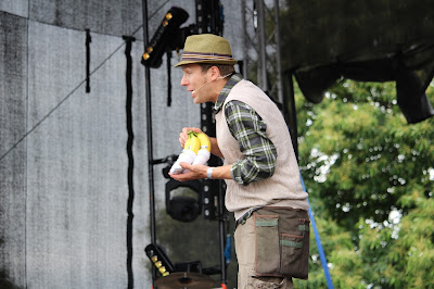 Mr Bloom at the Big Day Out, Maidstone, Kent