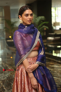 Aditi Rao Hydari Stills in Lehenga Choli at Cheliyaa Telugu Movie Audio Launch Event  0007.JPG