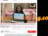 Youtube Subscriber Counter | Realtime | Ria ricis 10Juta