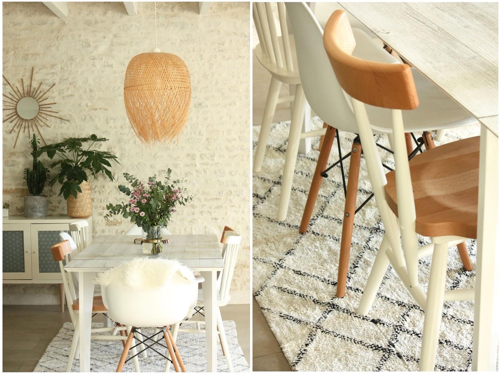 un nouveau regard: chaises d�pareill�es, un joli m�lange