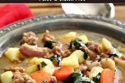 Paleo Italian Sausage & Potato Soup