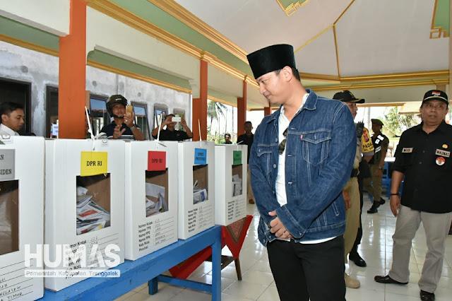 Plt Bupati Nur Arifin : Ada Box yang Tidak Ada Surat Suara