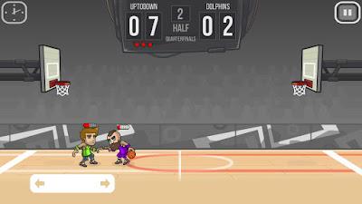 لعبة Basketball Battle مهكرة للأندرويد، لعبة Basketball Battle كاملة للأندرويد