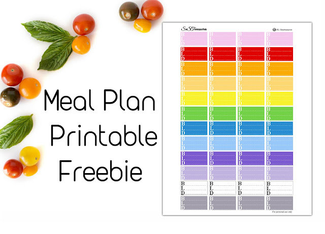 Free Printable Sticker Kit for Planners